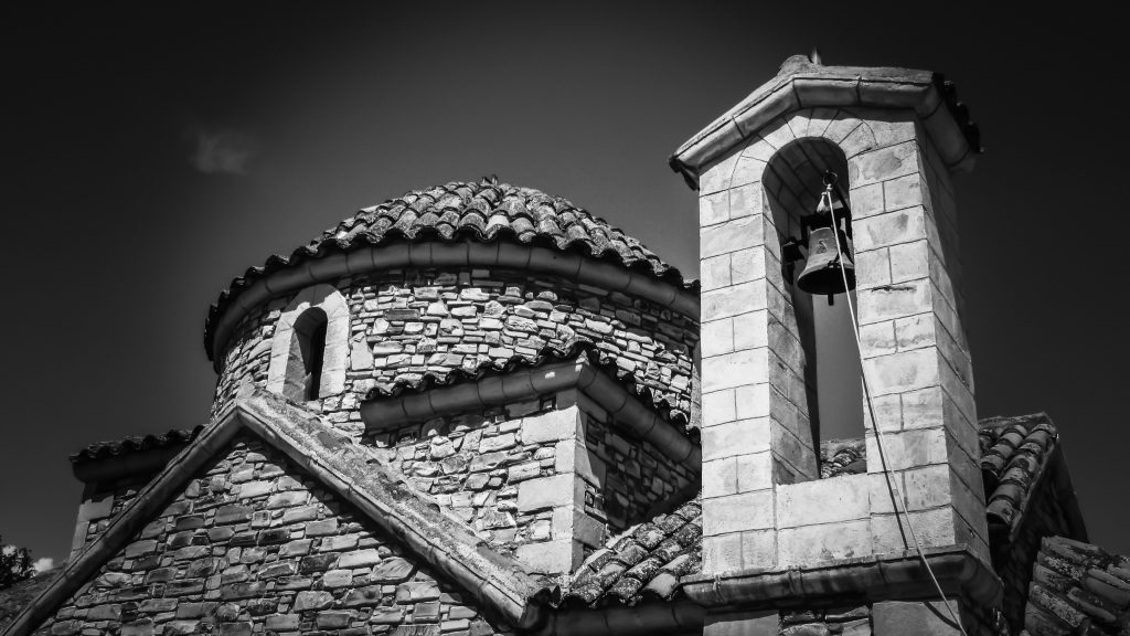 Black and White Belfry