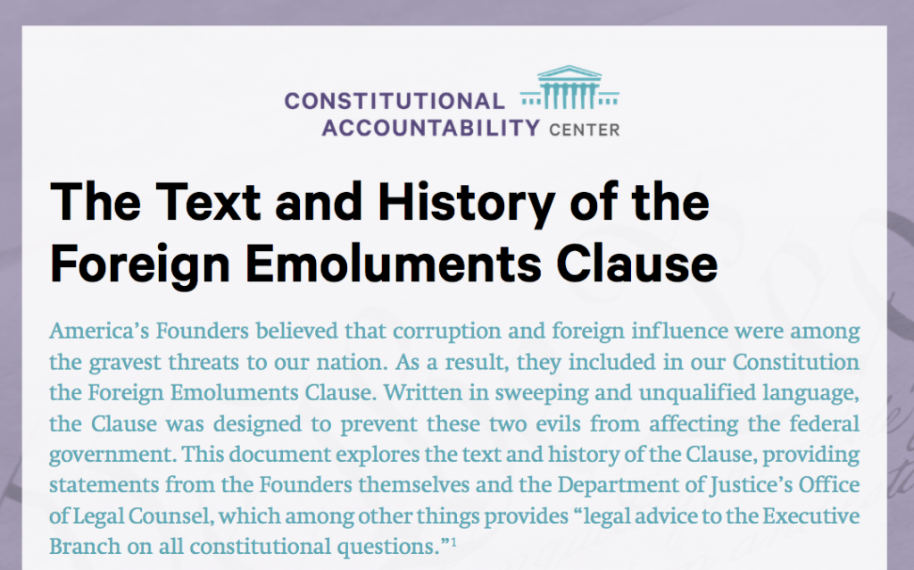 The Text and History of the FEC