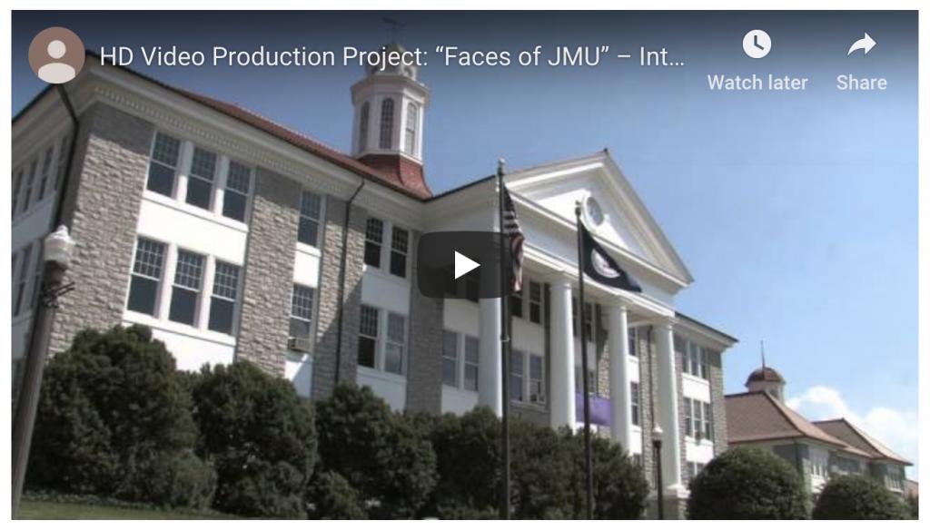 Faces of JMU screenshot