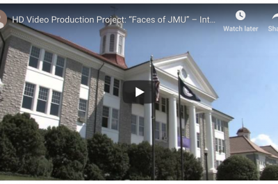 Faces of JMU screenshot