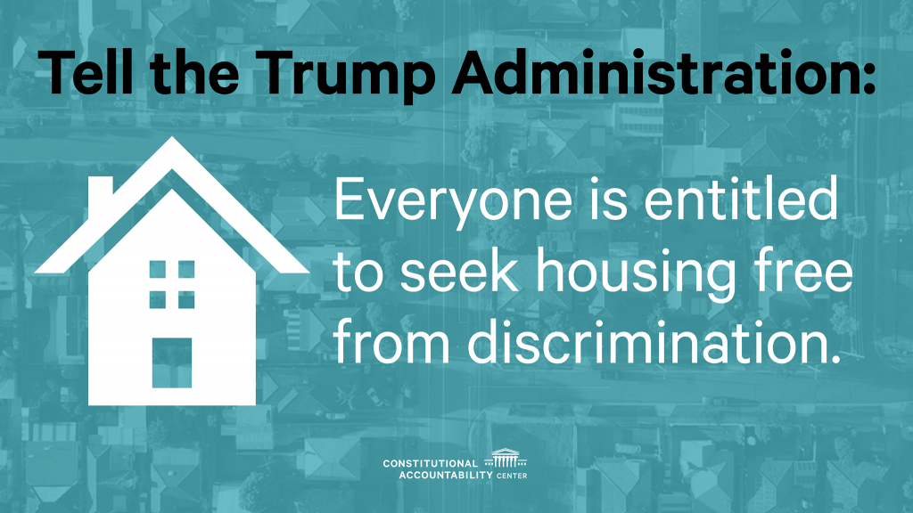 Graphic - Tell The Trump Administration