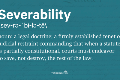 Graphic - Severability Definition